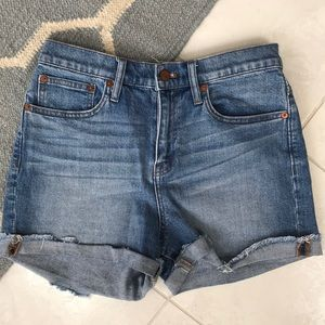 Madewell Jean Shorts Size 26